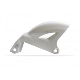Protège disque arrière POLISPORT blanc Yamaha YF250F/YZ450F