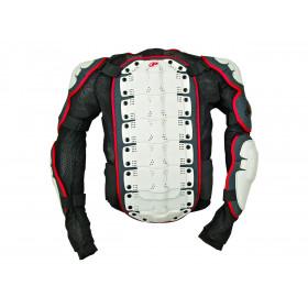 Gilet Integral Polisport blanc/noir/rouge taille XL