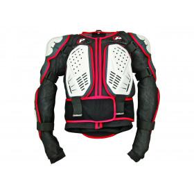 Gilet Integral Polisport blanc/noir/rouge taille S