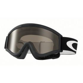 Masque OAKLEY L Frame Sand Jet Black écran gris + transparent