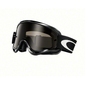 Masque OAKLEY XS O Frame Sand Jet black écran Dark Grey + transparent