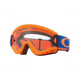 Masque OAKLEY L Frame Orange Blue écran transparent