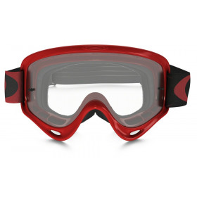 Masque OAKLEY XS O Frame High Voltage Red écran transparent