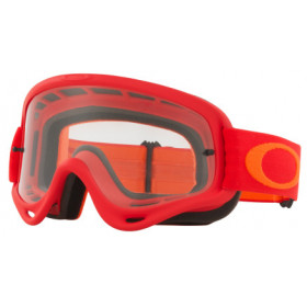 Masque OAKLEY O Frame Red Orange écran transparent