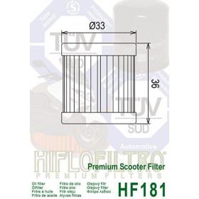 Filtre à huile HIFLOFILTRO HF182