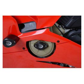 Slider moteur R&G RACING noir Ducati Panigale V4