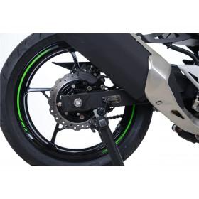 Pions de bras oscillant R&G RACING noir Kawasaki Ninja 400