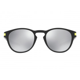 Lunette de soleil OAKLEY Latch Valentino Rossi Signature Series Matte Black verres Chrome Iridium