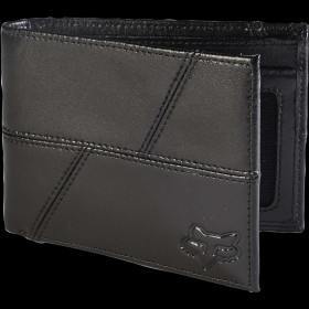 EDGE LEATHER WALLET [BLK] OS