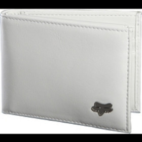 BIFOLD LEATHER WALLET - INTL ONLY WHITE