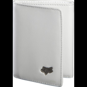 TRIFOLD LEATHER WALLET WHITE NS