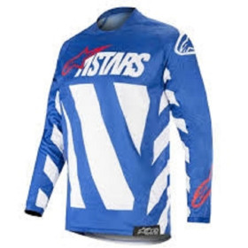 RACER BRAAP JERSEY BLUE WHITE RED L