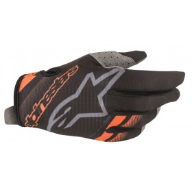 RADAR GLOVES BLACK MID GRAY L