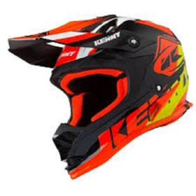 CASQUE TRACK ENFANT S BLACK ORANGE