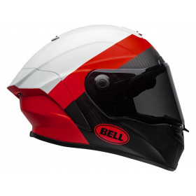Casque BELL Race Star Flex Surge Matte/Gloss White/Red taille XS