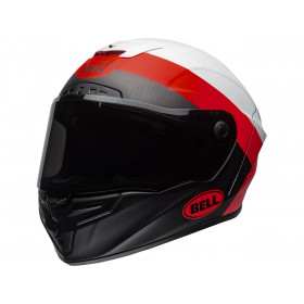 Casque BELL Race Star Flex Surge Matte/Gloss White/Red taille M
