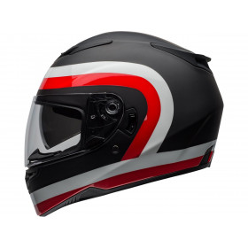 Casque BELL RS-2 Crave Matte/Gloss Black/White/Red taille XXL