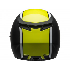 Casque BELL RS-2 Rally Gloss Black/White Hi-Viz Yellow taille M