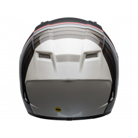 Casque BELL Qualifier DLX MIPS Illusion Matte/Gloss Black/Silver/White taille XXXL