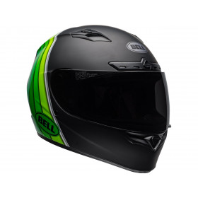 Casque BELL Qualifier DLX MIPS Illusion Matte/Gloss Black/Green taille XL