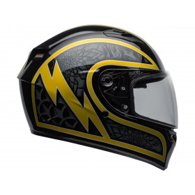 Casque BELL Qualifier Scorch Gloss Black/Gold Flake taille S