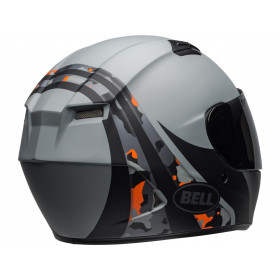 Casque BELL Qualifier Integrity Matte Camo Titanium/Orange taille M