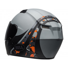 Casque BELL Qualifier Integrity Matte Camo Titanium/Orange taille L
