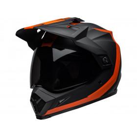 Casque BELL MX-9 Adventure MIPS Switchback Matte Black/Orange taille S