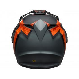 Casque BELL MX-9 Adventure MIPS Switchback Matte Black/Orange taille L