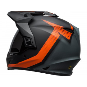 Casque BELL MX-9 Adventure MIPS Switchback Matte Black/Orange taille XXL