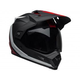 Casque BELL MX-9 Adventure MIPS Switchback Matte Black/Red/White taille M