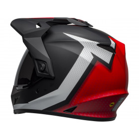 Casque BELL MX-9 Adventure MIPS Switchback Matte Black/Red/White taille XL