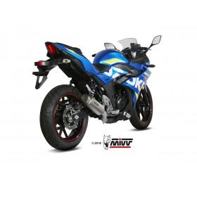 Silencieux MIVV GP Pro titane/casquette inox Suzuki GSX250R