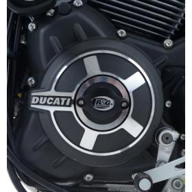 Slider moteur gauche R&G RACING alu Ducati Flat Track Pro