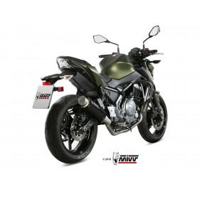 Ligne complète MIVV GP Pro Inox noir Kawasaki Z650