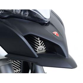 Protection de radiateur d'huile R&G RACING inox Ducati Multistrada 1200S
