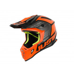 Casque JUST1 J38 Blade Orange/Black Gloss taille L