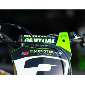 Mousse de guidon RENTHAL Fatbar® Kawasaki Racing Replica