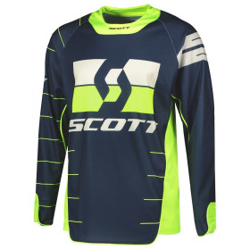 SCO JERSEY ENDURO BLUE/YELLOW XL