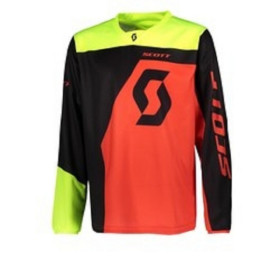 SCO JERSEY 350 DIRT KIDS BLACK/RED XXS