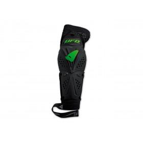 Coudières UFO Professional EVO noir/vert taille L/XL