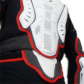 Gilet de protection UFO Pro-Ergo avec ceinture noir/blanc taille adulte XXL