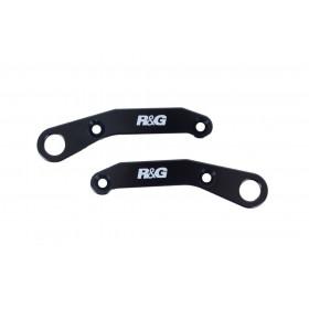 Platines pour sangles R&G RACING noir KTM RC125