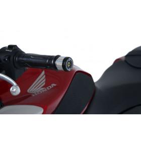 Embouts de guidon R&G RACING noir Honda CB125R