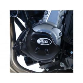 Couvre-carter gauche R&G RACING noir Kawasaki Z650