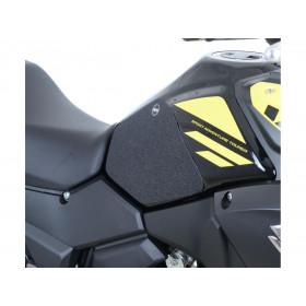 Kit grip de réservoir R&G RACING translucide (2 pièces) Suzuki V-Strom 250