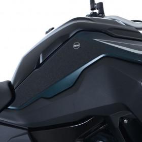 Kit grip de réservoir R&G RACING translucide (2 pièces) BMW F750GS/F850GS
