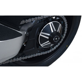 Insert axe de roue arrière R&G RACING noir Honda CB1000R