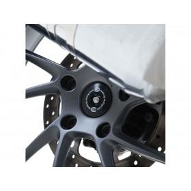 Insert axe de roue arrière R&G RACING noir BMW R Nine T
