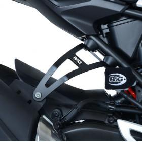 Kit supression de repose-pieds arrière R&G RACING noir Honda CB300R